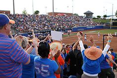 The Gators will count on their fans for support Monday night at ASA Hall of Fame Stadium. MONDAY JUNE 1, 2015 Florida Meets Michigan in Game 1 of WCWS Championship Series