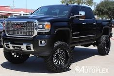 Shop Hurst Autoplex's selection of high-end custom and lifted GMC Sierra and trucks. All of our trucks are lifted & customized in-house. Gmc Trucks For Sale, Gm Trucks, Diesel Trucks, Lifted Trucks, Chevy Trucks, Pickup Trucks, Gmc Diesel, Diesel Tips, Lifted Chevy