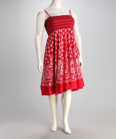 Take a look at this Pink Floral Dress - Plus by Unity on #zulily today!