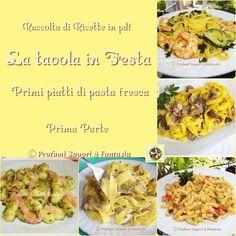 Raccolta di ricette in Pdf primi piatti di pasta fresca