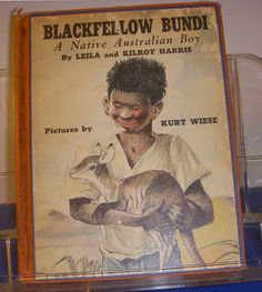 Blackfellow Bundi A Native Australian Boy by Leila and Kilroy Harris. Illustrated by Kurt Wiese. Former library book. Writing on page 5, stains on endpages, due date pocket on inside back cover. Wear on covers and spine, rubs on edges of spine and covers. | eBay!