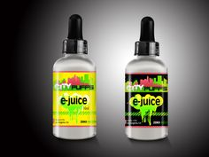 E-Juice / E-Liquid Bottle Label Design. Help the General Public ...