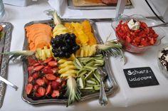 Früchteplatte im Hotel Sassor