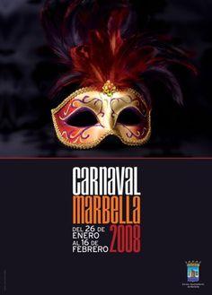 #Cartel del carnaval de #Marbella del año 2008 #carnavalMLG #carnavalMarbella #Malaga