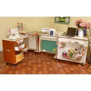 Kangaroo Kabinets Wallaby Sewing Cabinet with 3 position airlift ...