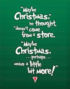 How the Grinch gave back Christmas! - How the Grinch gave back Christmas! Christmas Subway Art, Grinch Christmas, Merry Little Christmas, Winter Christmas, Christmas Ideas, Christmas Stuff, Christmas Crafts, Christmas Eve Quotes, Christmas Pictures