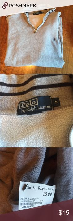 Men's Ralph Lauren Polo pull over Bought at a upscale second hand store. Still has tags on it! Polo by Ralph Lauren Shirts Sweatshirts & Hoodies