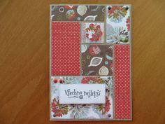 Birthday card (PA challenge 2016/08 - color blocking)