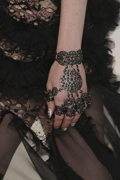 Alexander McQueen - Paris Fashion Week Spring, 2012 - details