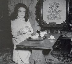 Bonnie's little tea party. Gone with the Wind (1939)