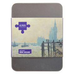 £5.95 - The Thames Below Westminster Jigsaw (54 Pieces). Featuring a breathtaking detail from Monet's The Thames Below Westminster, this jigsaw puzzle is perfect for all ages and makes a superb decorative piece when assembled. #jigsaw #monet