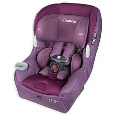 Maxi Cosi Pria 85 Max Convertible Car Seat in Nomad Purple The Pria 85 Max lets you enjoy the ride with your new BFF. Toddler Car Seat, Baby Car Seats, Seat Cleaner, Small Baby, Seat Pads, Traveling With Baby, Snug Fit, Convertible, Purple