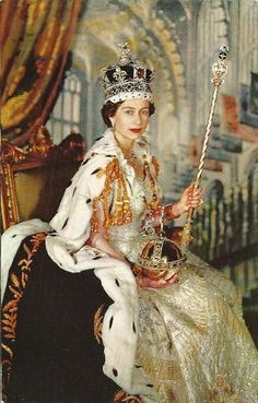 Her Majesty Queen Elizabeth II. Queen by the Grace of God of the United Kingdom, Canada, and Her other Realms and Territories, queen Head of the Commonwealth.