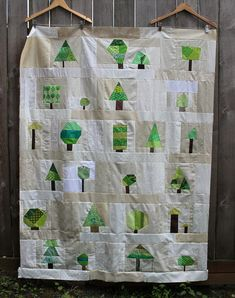 Wonky Tree quilt tutorial