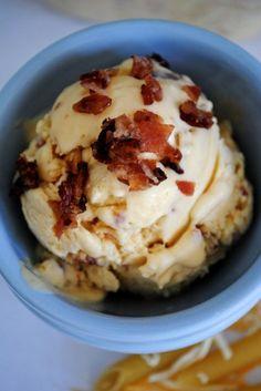 macaroni and cheese ice cream