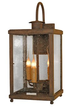 Traditional Exterior Wrought Iron Lantern By Laura Lee Designs