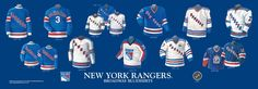 new york rangers jersey history - Google Search