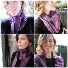 Baklooptus Scarf - free crochet pattern