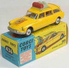 Corgi Toys Citroen Safari Near Mint with Excellent Box Citroen Ds, Antique Toys, Vintage Toys, Old Fashioned Toys, Miniature Cars, Corgi Toys, Automobile, Matchbox Cars, Hot Wheels Cars