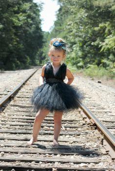 The Marilyn in Black- Marilyn Monroe Inspired Black Tutu Dress (Sizes Newborn-4T). $54.99, via Etsy.