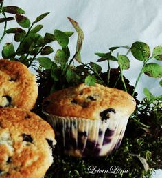 LeivinLiina: Mustikkamuffinit
