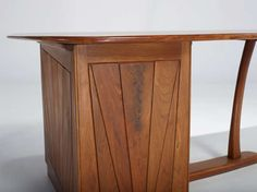 Wharton Esherick Desk, circa 1970 | From a unique collection of antique and modern desks at https://www.1stdibs.com/furniture/storage-case-pieces/desks/