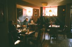 The coffee shop was quieter if you had your headphones on. It Goes On, Street Photography, Wedding Photography, 35mm Film Photography, Landscape Photography, Photography Business, Light And Shadow, Writing Inspiration, Routine