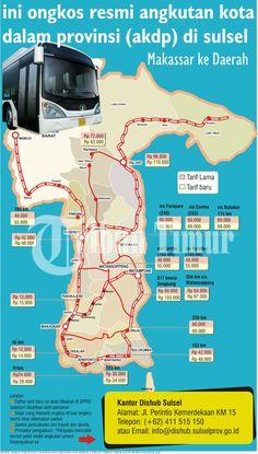ini ongkos resmi angkutan kota dalam provinsi (akdp) di sulsel