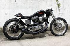 ϟ Hell Kustom ϟ: Harley Davidson Sportster XL883 1994 By Hide Motor...