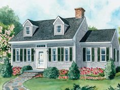 landscaping for cape cod style houses | ... Plains Home Styles.. Which Dwelling Style is Right For You? {part 1