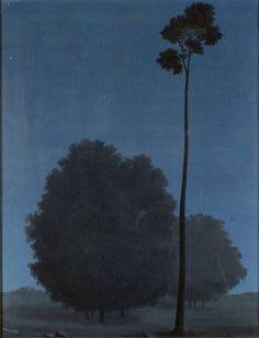 René Magritte (Belgian, 1898-1967), Les grandes espérances [Great expectations], 1940. Oil on canvas, 63 x 50 cm.