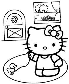 Printable Hello Kitty Coloring Pages . 24 Printable Hello Kitty Coloring Pages . Hello Kitty with Heart Balloons Coloring Page Chibi Coloring Pages, Hello Kitty Colouring Pages, Boy Coloring, Barbie Coloring Pages, Valentine Coloring Pages, Preschool Coloring Pages, Online Coloring Pages, Disney Coloring Pages, Coloring Pages To Print
