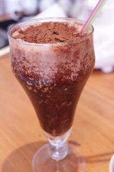 Milkshake de chocolate com ovo maltine by Segredos da Tia Emília. .:: Segredos da Tia Emília ::..