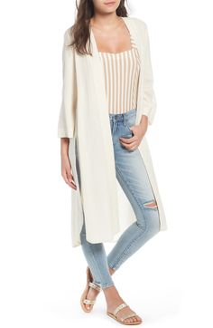 Free shipping and returns on BP. Linen Blend Kimono at Nordstrom.com. A curved hem with high side slits adds breezy movement to this lightweight, layerable linen-blend kimono.