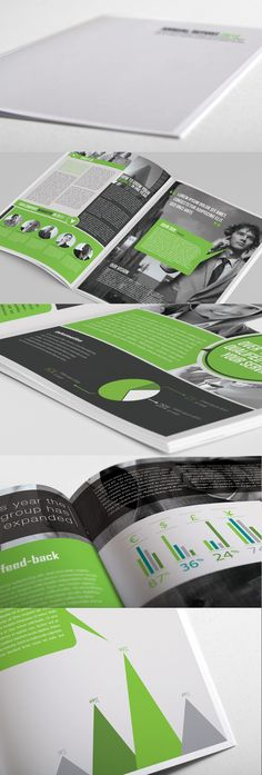 Annual Report d-e-s-i-g-n-mise-en-page Graphic Design Layouts, Graphic Design Typography, Graphic Design Illustration, Graphic Design Inspiration, Layout Design, Print Design, Brochure Inspiration, Design Editorial, Editorial Layout