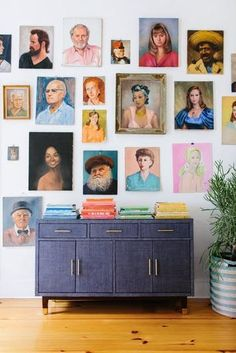 Gallery Wall Ideas - Creative Picture Walls | Gallery walls are a decor trend that seem to be able to stand the test of time and for good reason. Powerful, beautiful, and full of character, these commanding art displays are a great way to fill up a large empty wall at home, without having to pull out your paint brushes (and with plenty more personality to boot).