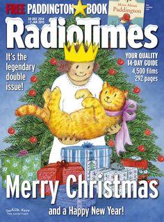 Awwww, it's gorgeous! Judith Kerr designs Radio Times Christmas cover 2014 Uk History, Asian History, History Facts, Strange History, Tudor History, British History, Christmas Cover, Vintage Christmas, Christmas 2014