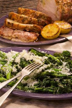 Butter, olive oil, cheese, pepper, and garlic are all you need for this broccoli rabe side dish.