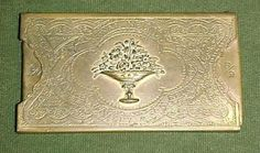 My.......The Royal Needle Case by W.Avery & Son. - Reddich , England Patented S.C.D.C.-Brass