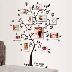 Family Photo Frame Tree Wall Sticker – Home decor