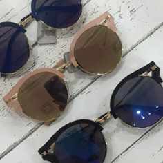 ⓝⓔⓦ ⓢⓤⓝⓝⓘⓔⓢ && as always our sunglasses are ONLY $12! #sunglasses #aviators  #vintage #gotd #musthave #sunshine #newarrival #favorite #shadeson #apricotlanedesmoines #shoplocal #apricotlane #spring #fashion #sunglassobsessed #aldm #trendsetter