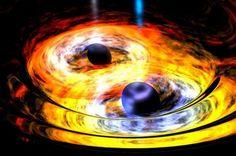Scientists Observe Two Supermassive Black Holes Merging | IFLScience