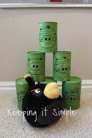 Keeping it Simple: Whatever Wednesday: Angry Birds Cans