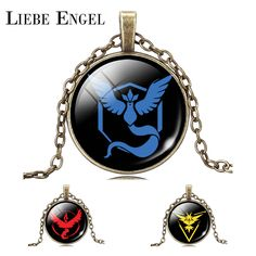 Find More Pendant Necklaces Information about LIEBE ENGEL Charm Retro Bronze Chain Necklace Pokemon Game Anime Pendant Necklace Fashion Jewelry Unisex Gift Pokeball,High Quality necklace gemstone jewelry,China jewelry vogue Suppliers, Cheap necklace jewelry holder from LIEBE ENGEL Official Store on Aliexpress.com