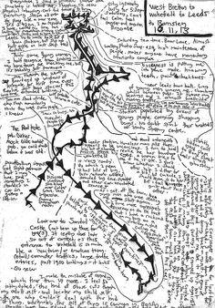 johnledgerart: Recent Psychogeographical maps (Part of a...