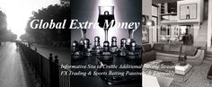 GEM - Global Extra Money are a bunch of experts with different professional backgrounds such as financial institutions, on-line marketing and accounting firms etc. We have daily job but feel we need passive income that will bring extra money as a safety net in this rapidly changing world with a full of uncertainties.We regularly conduct brain storming for passive income ideas and discuss the way to build the best passive income stream in safe on-line and decided to share what we learnt…