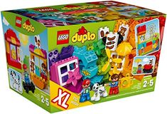 buy now   									£31.95 									    									Young children will love using these brightly colored LEGO® DUPLO® bricks to create buildings and vehicles with a city and fun park theme. With lots of accessory  ...Read More