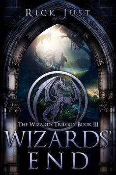 Fantasy, Magic, Adventure book cover design by Milo, Deranged Doctor Design