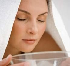Os Meus Remédios Caseiros: Banho de vapor facial (sauna)