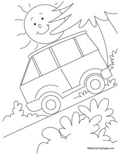 Yacht transport coloring page   Download Free Yacht transport ...